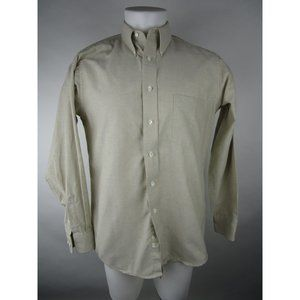 VINTAGE Claybrooke Wrinkle Free Button Up Shirt